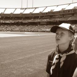 Joseph at Scout Day